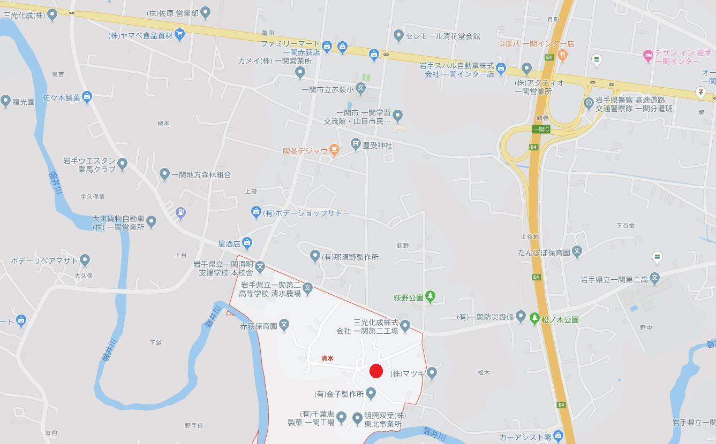 一関市赤荻字清水 売り土地