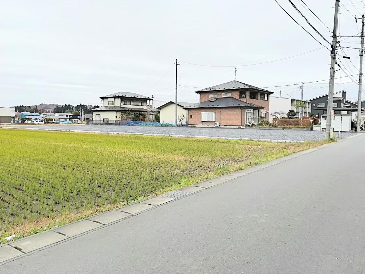 一関市萩荘字川崎 売り土地